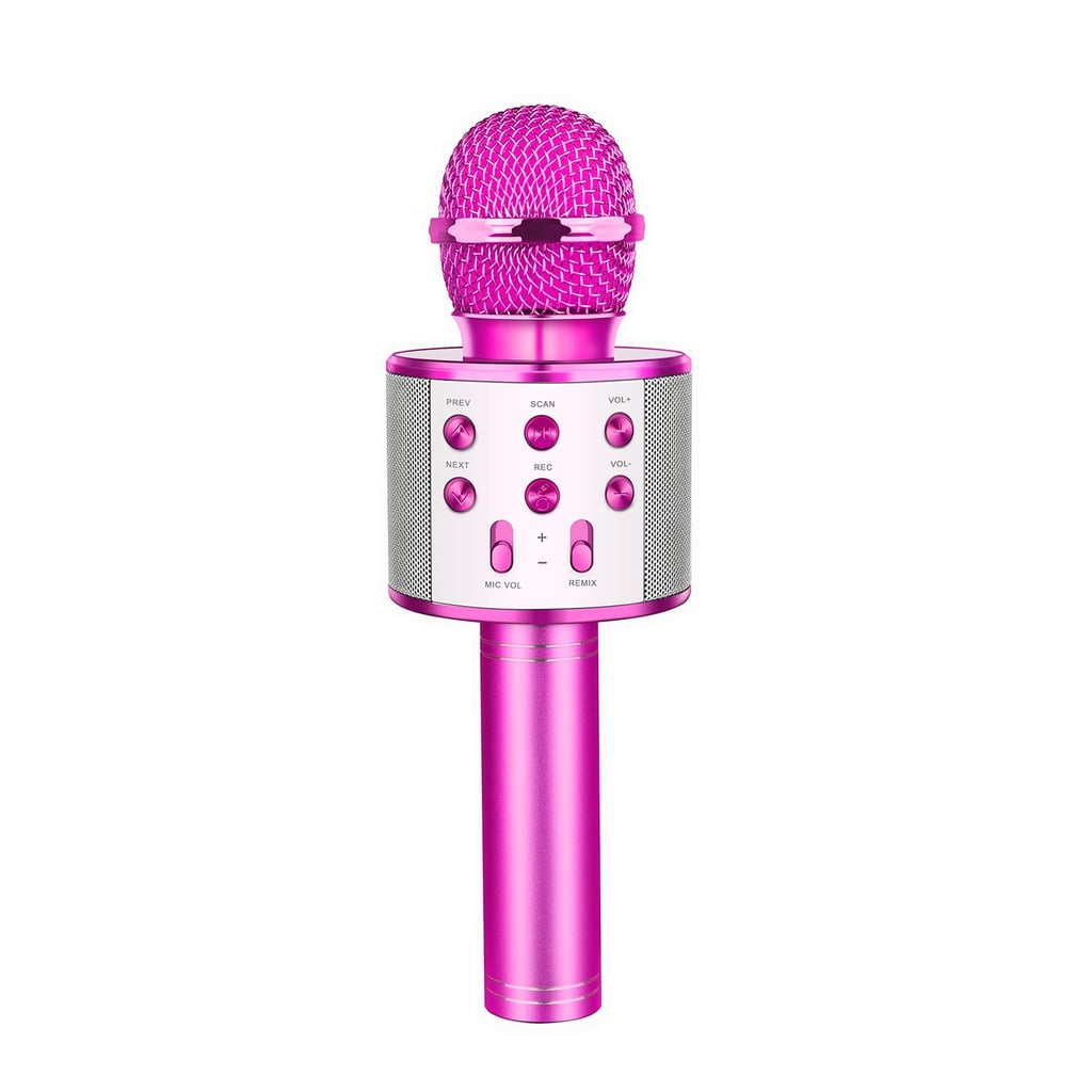 For 4-Year-Olds: Let's Go! Wireless Karaoke Microphone with Bluetooth Speaker