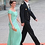 She Pulled Off a Mint Dress With Ease at Princess Sofia's Royal Wedding