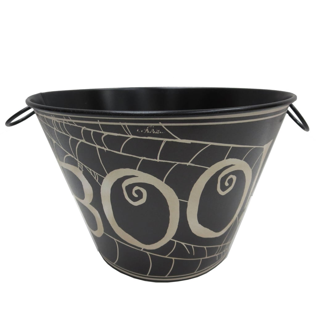 halloween tin bucket with boo ($5, originally $6) | cheap halloween