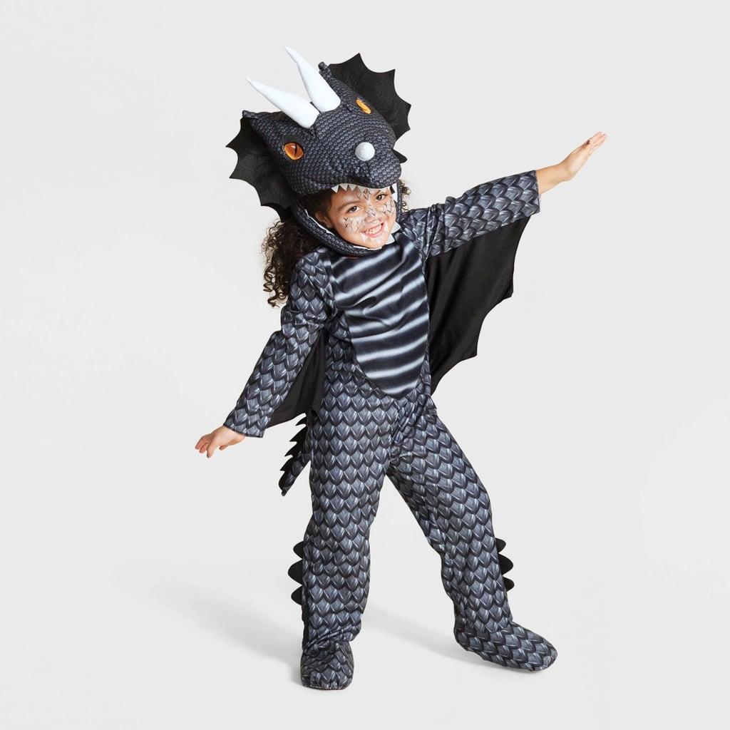 Toddler Dark Dragon Halloween Costume