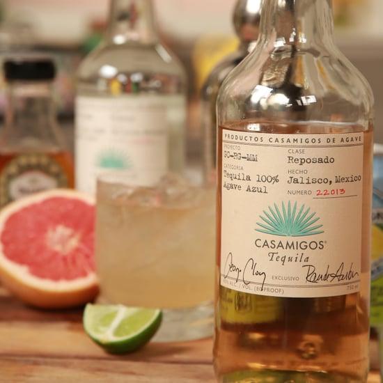 Grapefruit Tequila Cocktail Recipe | Video