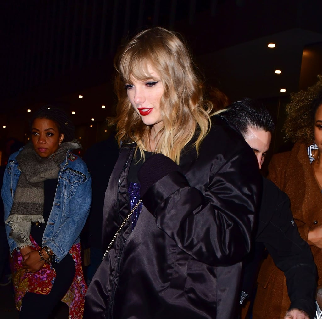 Taylor Swift's Afterparty Outfit Looks Low-Key, but Her Boots Are the Coolest in the Book
