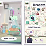 Toca Lab ($3, iOS, Android, Amazon apps) — Science is made fun in this adorable educational chemistry app.