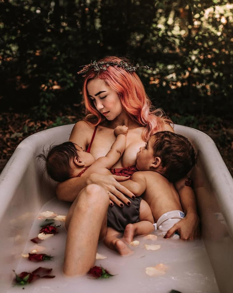 No matter what your journey with feeding your child has looked like — whether you breastfed or formula-fed — being able to nourish your babies from birth is a beautiful thing. For some moms, breastfeeding into toddlerhood is what worked best for their family, and so many of those moms, in an attempt to normalize breastfeeding in all its forms, have shared stunning photos of them nursing their babies. Whether it was a snap Dad took right at home or a professional photo taken in a serene setting, each and every one of these moms' extended breastfeeding photos is too beautiful for words — see for yourself.      Related:                                                                                                           Mom's Photography Project Is Normalizing Breastfeeding in the Most Stunning Way