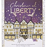 Liberty London Christmas at Liberty Colouring Book