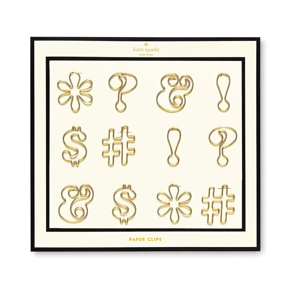 Kate Spade Assorted Paper Clips
