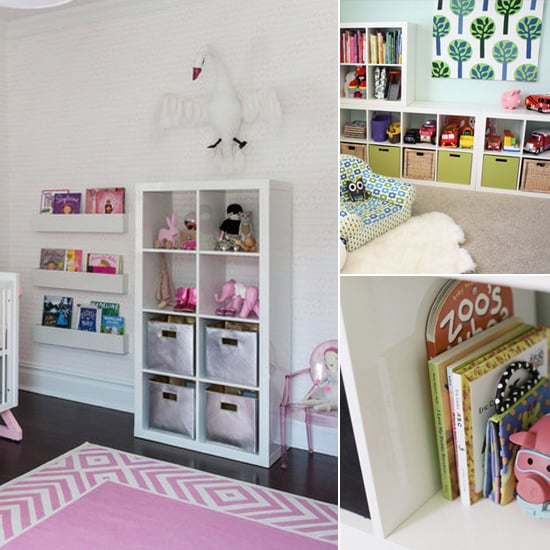 ikea expedit bookshelves popsugar moms