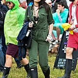 Daisy Lowe at Glastonbury 2015