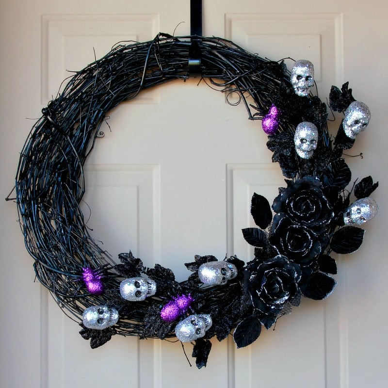 Ghoulish Glam Wreath