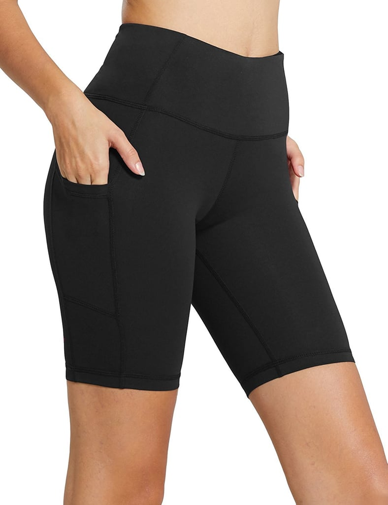 Baleaf Women's High Waist Workout Shorts