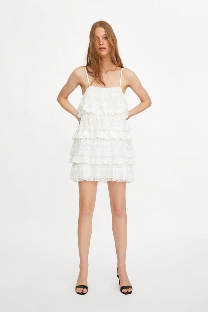 0d2ba3dd416f Rihanna White Dress on Vacation in Italy 2019   POPSUGAR Fashion