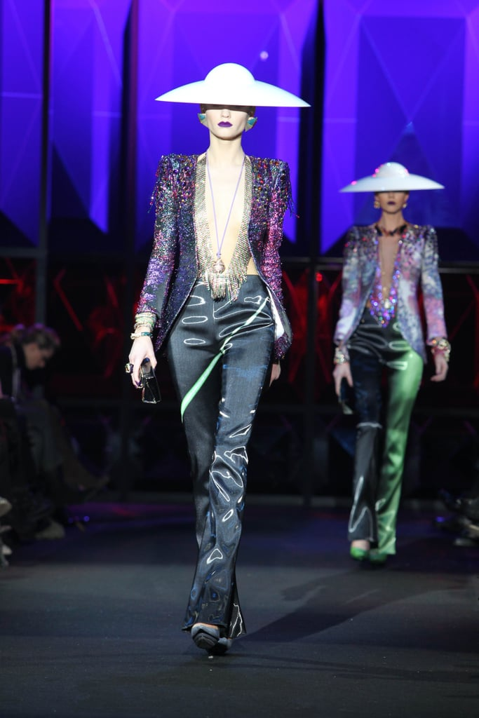 Armani Privé Couture Spring '11 Is All About the Details — Masks, Metallics, Jewels!
