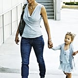 Pictures of Halle and Nahla