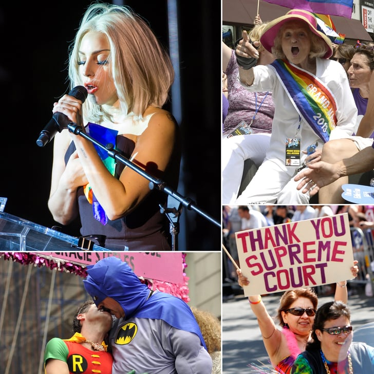 Lady Gaga and More Feel the Love During Gay Pride Weekend