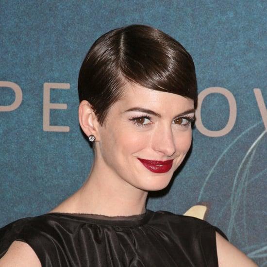 Anne Hathaway's Red Lipstick
