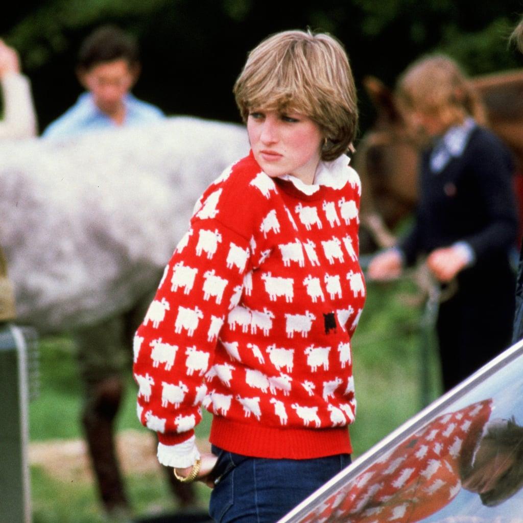 You Can Knit Princess Diana's Black Sheep Jumper