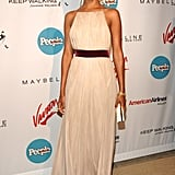 Zoe wore an ethereal gown to People en Espanol's 5th Annual 50 Most Beautiful event in '06.
