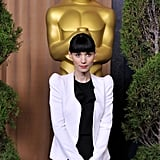 Rooney Mara at the 2012 Oscar nominees lunch.