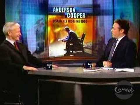 Anderson on The Daily Show