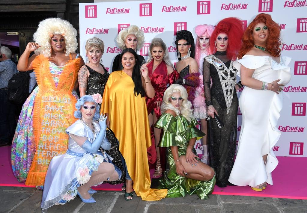 RuPaul's Drag Race UK Launch Party Photos   POPSUGAR Celebrity UK