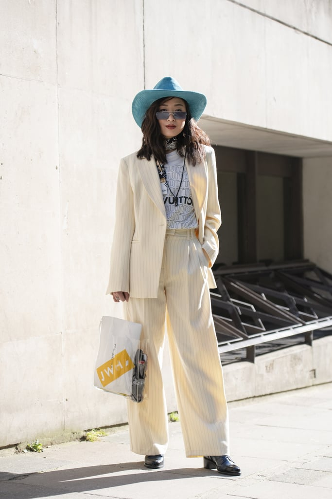 Pair a Bandana With a Monochromatic Suit