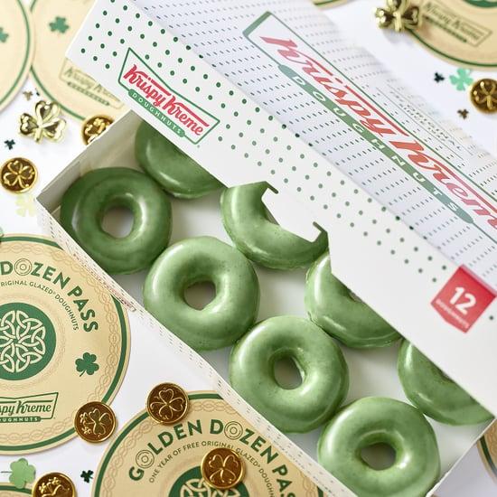 Krispy Kreme Green St. Patrick's Day Doughnuts 2019