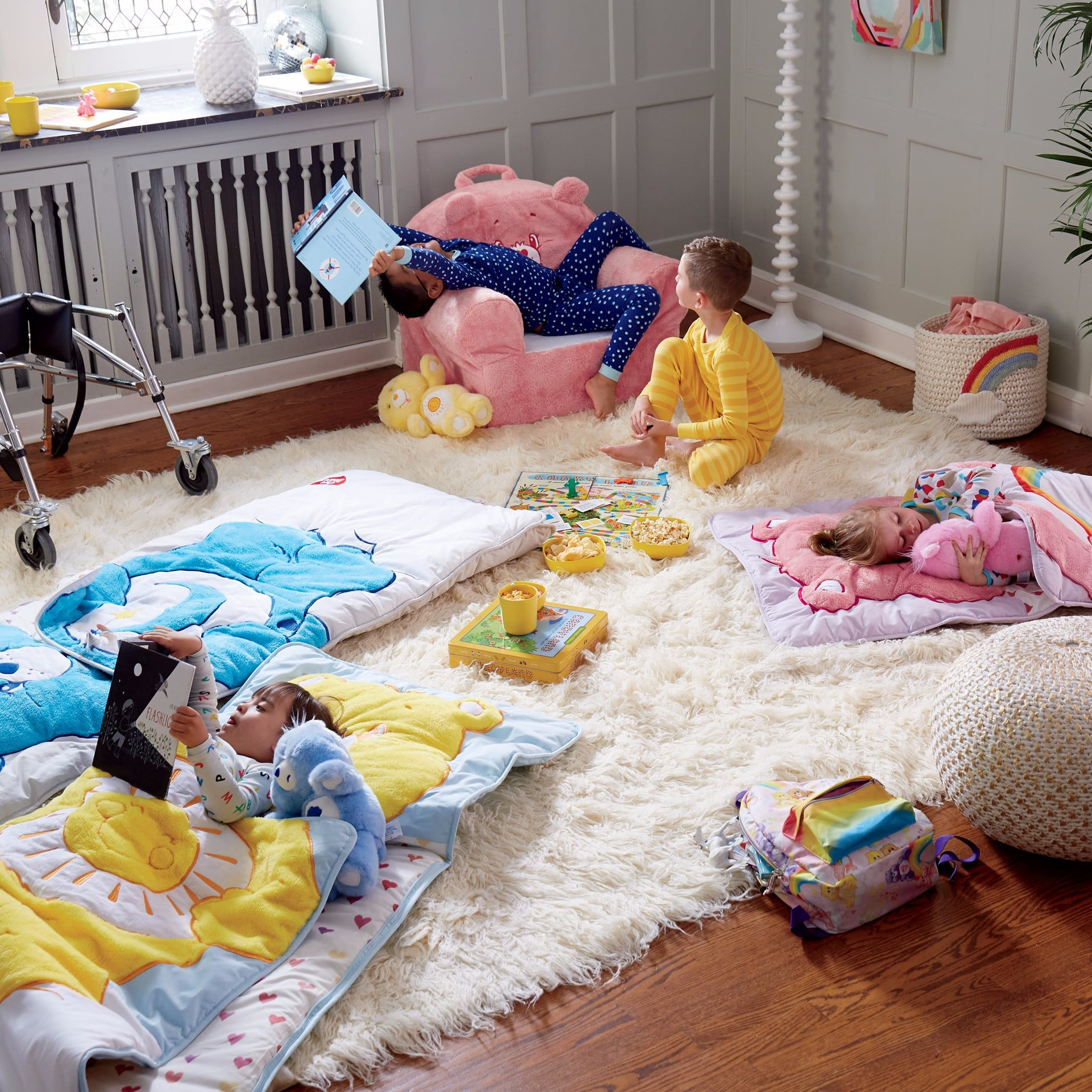 Land of Nod Fall Care Bears and Paul Frank Collections