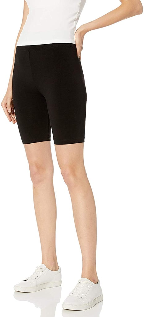 The Drop Women's Jeannie High Rise Mid Length Bike Short