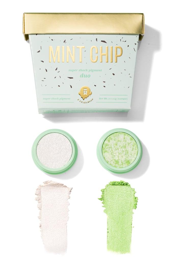 Halo Top x ColourPop Mint Chip Super Shock Pigment Duo