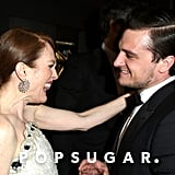 Julianne Moore and Josh Hutcherson