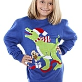 T-Rex Santa Hat Sweater