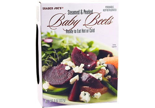 Steamed and Peeled Baby Beets
