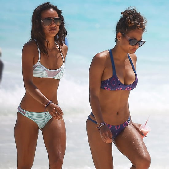 Christina Milian Bikini Pictures in Mexico