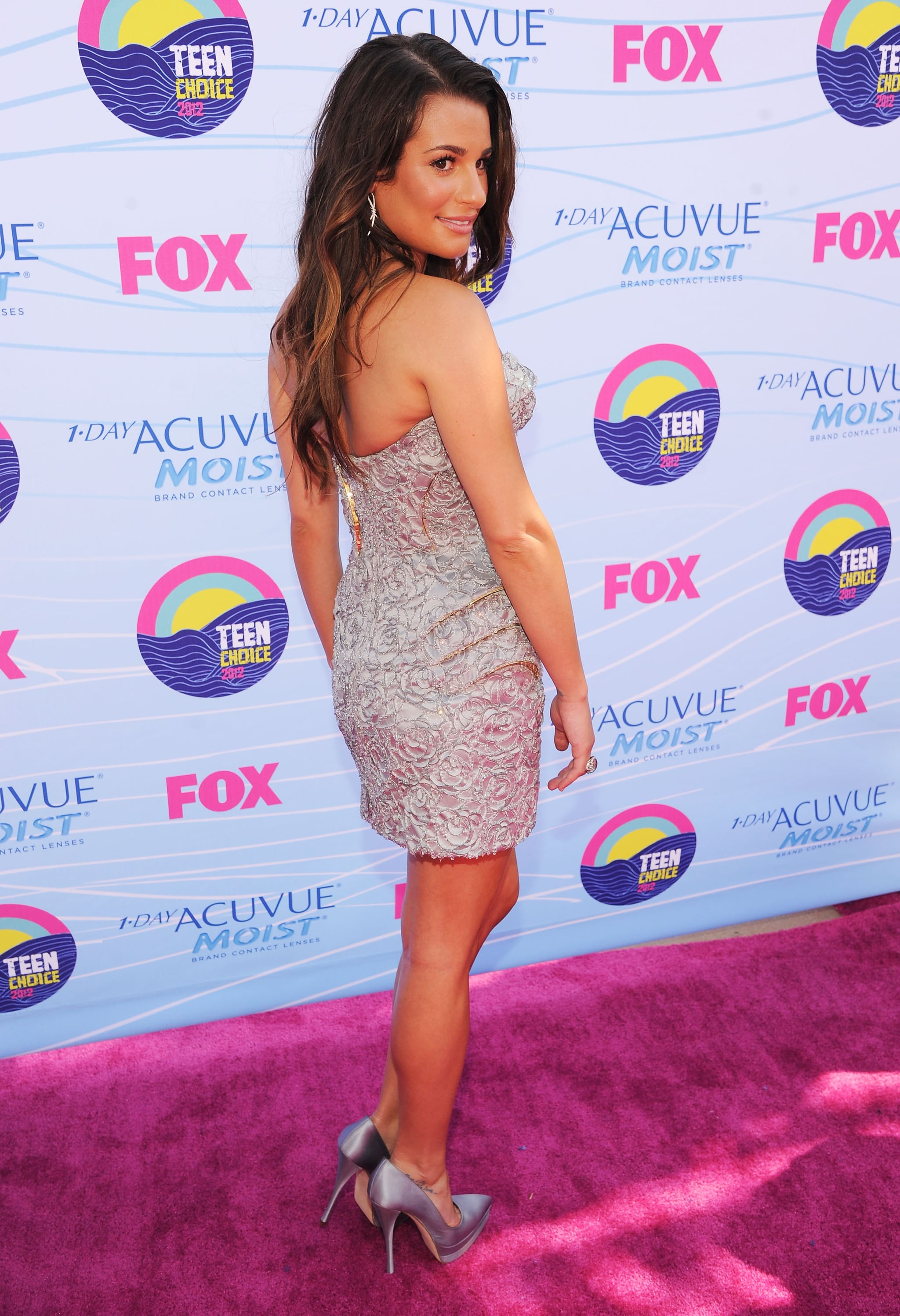 Lea Michele stepped out for the Teen Choice Awards.