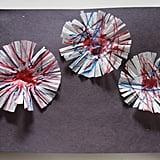 Cupcake-Liner Fireworks