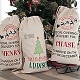 Large Personalized Santa Sack Gift Bag