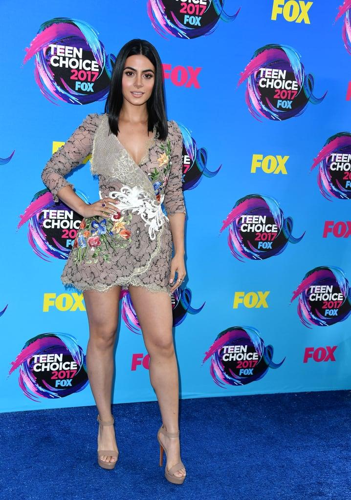 Latinas at Teen Choice Awards 2017 | POPSUGAR Latina