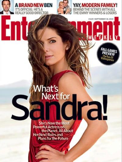 Sandra Bullock covers Entertainment Weekly-september 2010