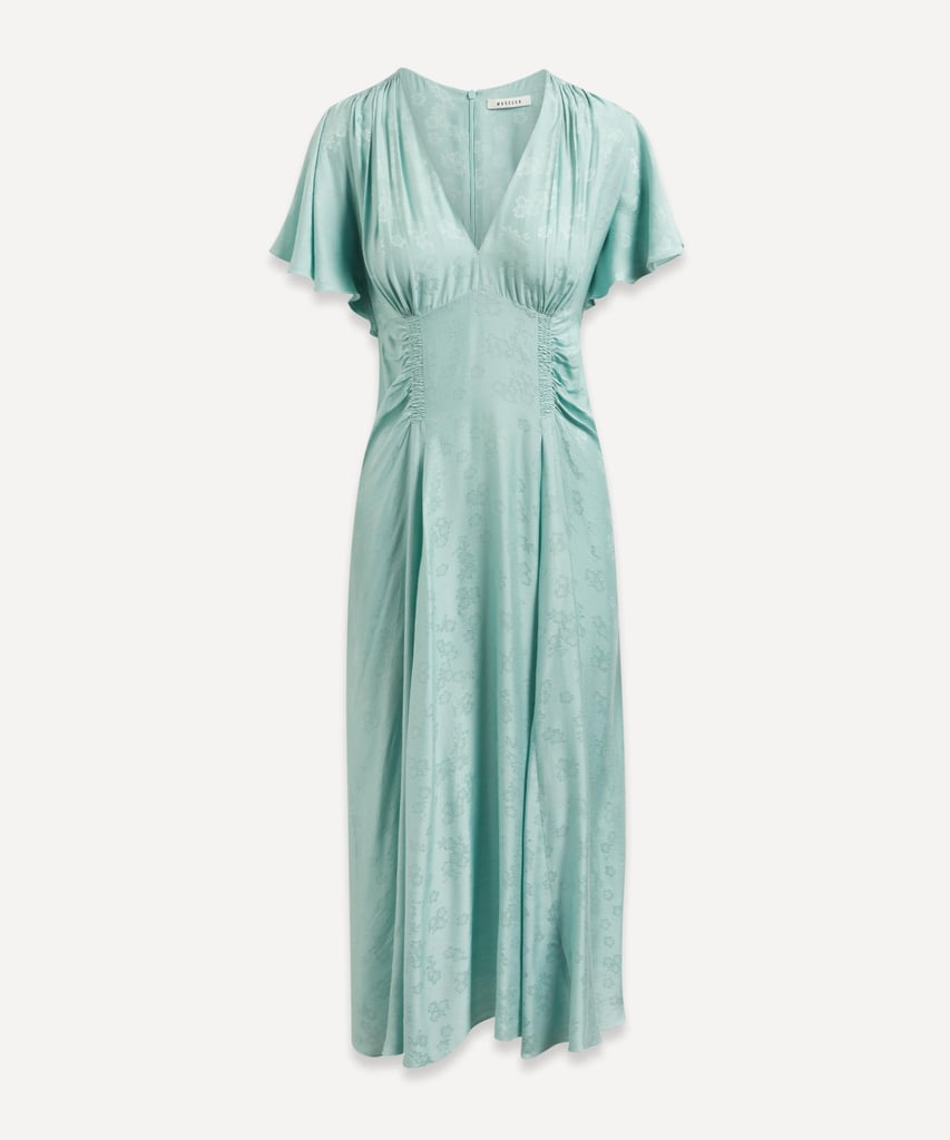 Blue Bridesmaid Dress: Masscob Bianca Midi-Dress