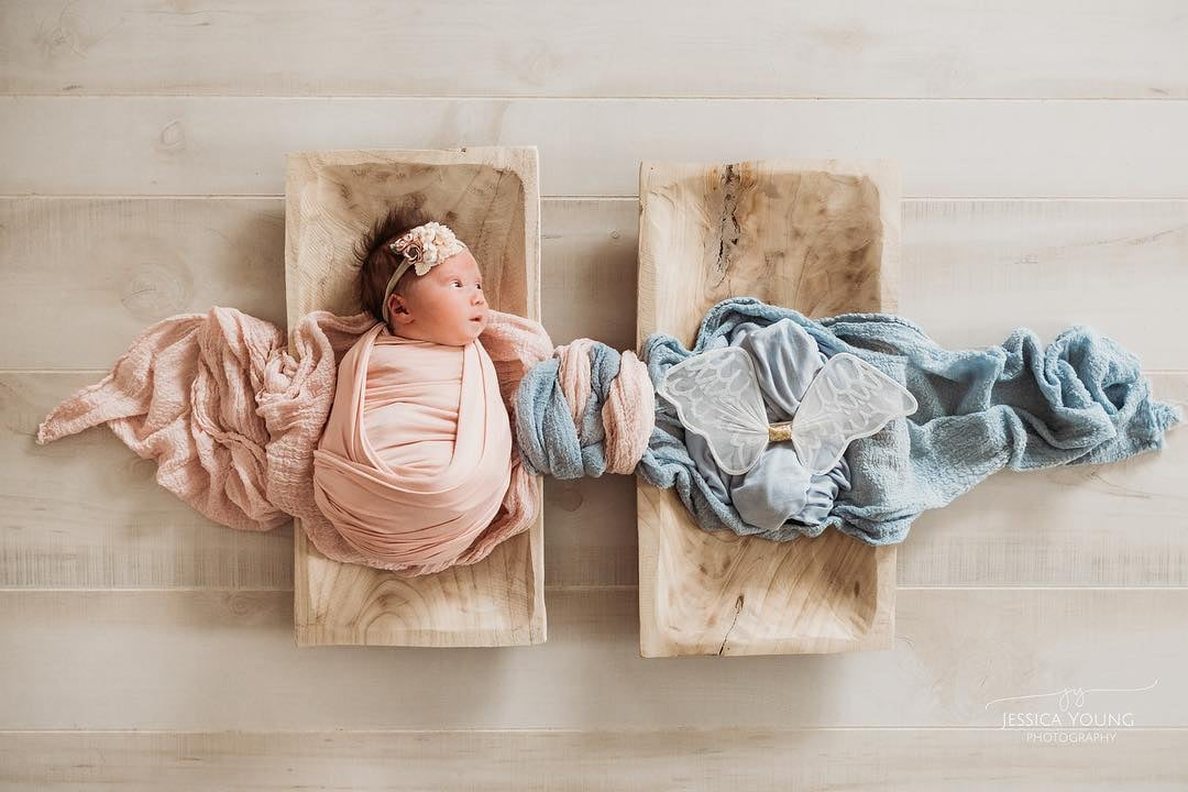 Photo of Newborn Honors Late Twin Brother | POPSUGAR Family