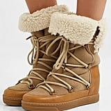 Isabel Marant Nowly Shearling-Lined Snow Boots