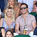 Stacey Solomon and Joe Swash at Day 6 of Wimbledon