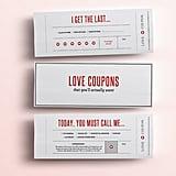 Fun Love Coupons ($7)