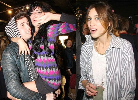 Photos Of Amy Winehouse and Alexa Chung At The Ray Ban Launch At Selfridges