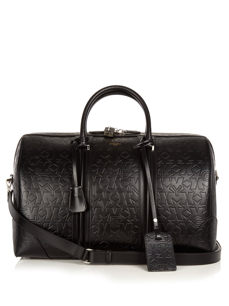 Getting out of town will be infinitely more stylish with this Givenchy Star-Embossed Leather Weekend Bag ($2,783) in tow.