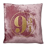 Platform 9 3/4 Velvet Throw Pillow