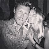 Lara Bingle and her best friend May May looked too cute in this happy pic. Source: Instagram user mslbingle