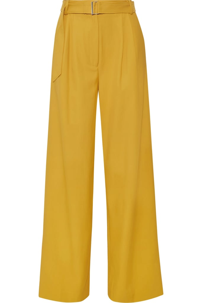 Tibi's marigold pants ($550) will quickly become a Spring favorite.