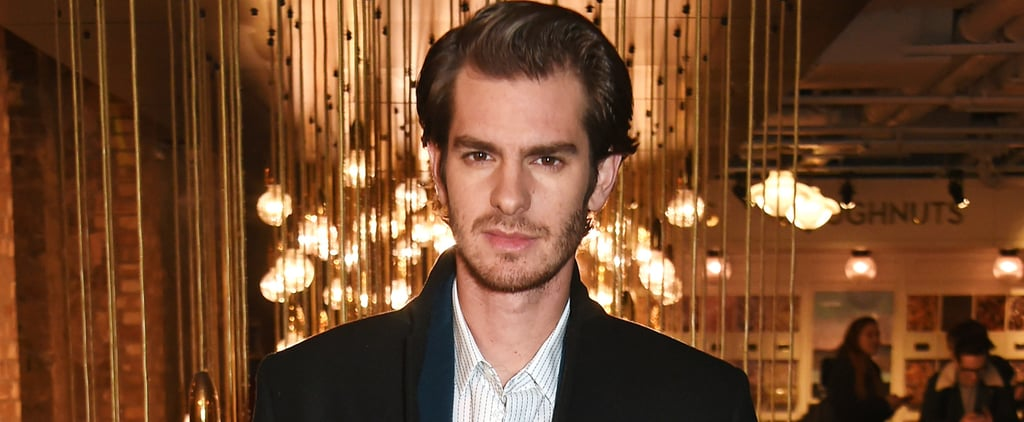 Andrew Garfield Is Bringing His Dad to the Oscars 2017