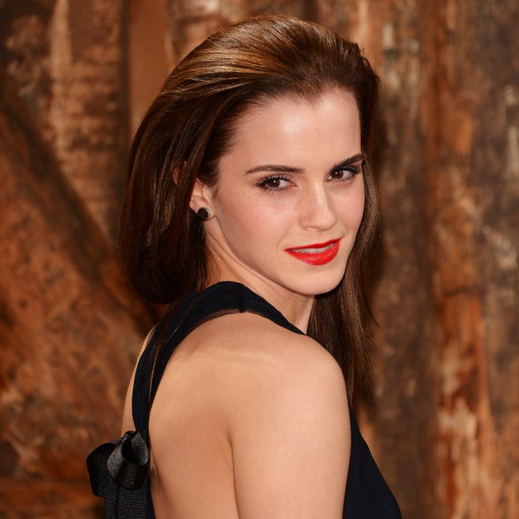 emma watson and celebrity beauty | popsugar celebrity